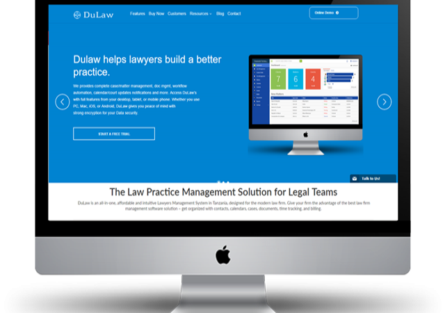 DuLaw - Product Website